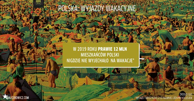 Polska: wyjazdy wakacyjne