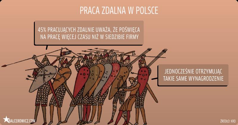 praca zdalna w Polsce