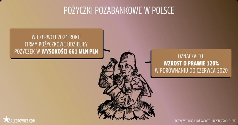 Pożyczki pozabankowe w Polsce
